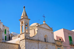 Church of St. Stefano. Molfetta. Puglia. Italy. Royalty Free Stock Image