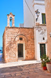 Church of St. Stefano. Polignano a mare. Puglia. Italy. Royalty Free Stock Images