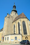 Church of St. Stephan in Baden bei Wien, Austria Royalty Free Stock Photography