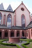 Church of St. Stephan in Mainz. Famous church of St. Stephan. Mainz, Rhineland-Palatinate, Germany Stock Images