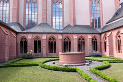 Church of St. Stephan in Mainz. Famous church of St. Stephan. Mainz, Rhineland-Palatinate, Germany Stock Photos