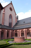 Church of St. Stephan in Mainz. Famous church of St. Stephan. Mainz, Rhineland-Palatinate, Germany Royalty Free Stock Photography