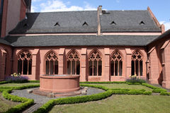 Church of St. Stephan in Mainz. Famous church of St. Stephan. Mainz, Rhineland-Palatinate, Germany Stock Photo