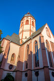 The Church of St. Stephan in Mainz, Germany Royalty Free Stock Images