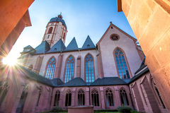 The Church of St. Stephan in Mainz, Germany Stock Photos