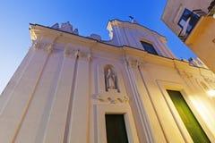 Church of St. Stephen in Capri Stock Image