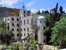 Church of St. Stephen in the Kidron Valley Royalty Free Stock Photos