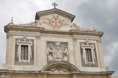 Church St. Stephen of the Knights in Pisa, Italy. Stock Images