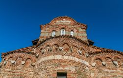 Church of St Stephen in Nessebar ancient city on the Bulgarian Black Sea Coast. Nesebar or Nesebr is a UNESCO World Heritage Site. A Byzantine architecture old royalty free stock photography