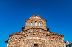 Church of St Stephen in Nessebar ancient city on the Bulgarian Black Sea Coast. Nesebar or Nesebr is a UNESCO World Heritage Site. A Byzantine architecture old stock photography