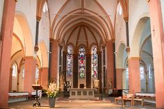 St Suitbertus Church Dusseldorf Kaiserswerth, Germany Royalty Free Stock Images