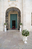 Church of St. Teresa. Trani. Puglia. Italy. Royalty Free Stock Images