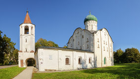 Church of St.Theodore Stratilates on the brook Royalty Free Stock Image