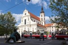Church of St Thomas in Brno Royalty Free Stock Photos