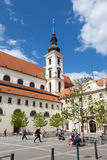 Church of St Thomas in Brno Royalty Free Stock Photography