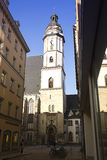 The Church of St. Thomas in Leipzig, Germany royalty free stock photography