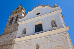 Church of St. Trinity of Celestini. San Severo. Puglia. Italy. Stock Image