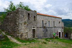 Church of St. Veneranda (XIV century), Old Bar, Montenegro Royalty Free Stock Photography