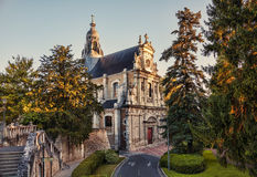 Church St. Vincent in Blois. Royalty Free Stock Photos