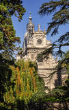 Church St. Vincent in Blois. Stock Images