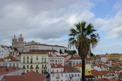 Church st vincent in lisbon Stock Image