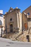 Church of St. Vincenzo. Acerenza. Basilicata. Italy. Stock Photos