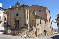 Church of St. Vincenzo. Acerenza. Basilicata. Italy. Stock Images