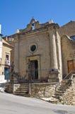 Church of St. Vincenzo. Acerenza. Basilicata. Italy. Royalty Free Stock Photography
