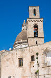 Church of St. Vincenzo. Monopoli. Puglia. Italy. Royalty Free Stock Photography