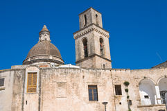 Church of St. Vincenzo. Monopoli. Puglia. Italy. Stock Images