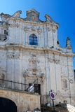 Church of St Vito in Ostuni, Italy royalty free stock photography