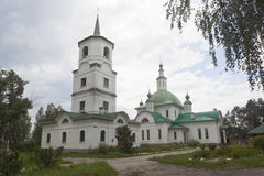 Church of St. Vladimir equal to the Apostles in the city of Krasavino, Veliky Ustyug district Stock Images
