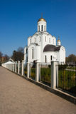 Church of st. vladimir on summer day Royalty Free Stock Photo