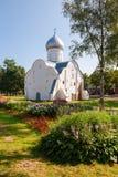 Church of St. Vlasy in Veliky Novgorod, Russia Royalty Free Stock Photo