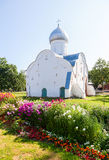 Church of St. Vlasy in Veliky Novgorod, Russia Royalty Free Stock Photography