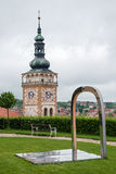 Church of St. Wenceslas, Mikulov, Czech Republic Stock Photo
