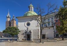Church of St Wojciech Stock Image