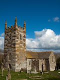 St Wynwallow Church Cornwall. The church of St. Wynwallow near Church Cove, the Lizard, Cornwall. The most southerly church in mainland Britain founded in the Stock Photography