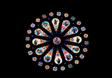 Church stained glass Stock Photo