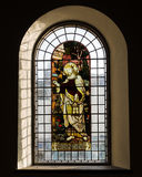 Church stained glass panel Royalty Free Stock Photography