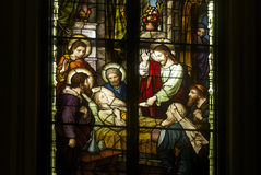 Church stained glass Stock Photography