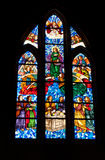 Church stained glass window Royalty Free Stock Photos