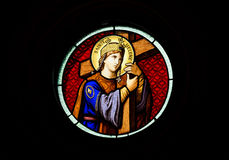 Church Stained Glass Window Royalty Free Stock Images