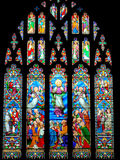 Church Stained glass window Royalty Free Stock Image