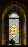 Church stained glass window Stock Photos
