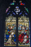 Church  stained glass windows Royalty Free Stock Photography