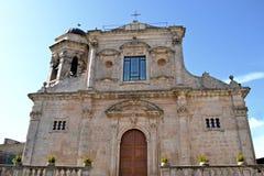 Church, Palazzolo Acreide Stock Photos