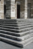 Church stairs in Trieste, Italy. Entrance of Madonna del Mare church in Trieste Royalty Free Stock Photography