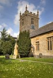Church at Stanway, England Stock Photo