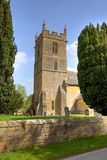 Church at Stanway, England Stock Images